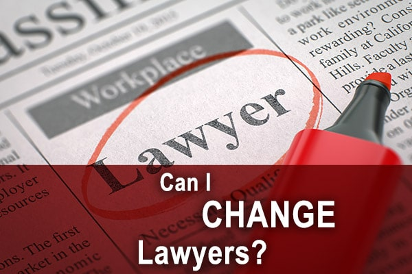 can I change lawyers?