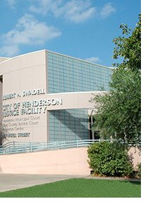 city of henderson justice facility